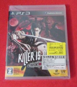 Killer Is Dead -- Premium Edition  (Sony PlayStation 3, 2013) Japanese Import