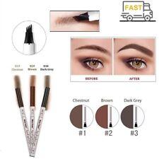 Eyebrow Tattoo Pen Liquid Waterproof Makeup Ink Sketch Fork Tip Patented Liner