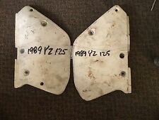 89 yamaha yz-125 side panel oem pair,3JD-21711-00-00