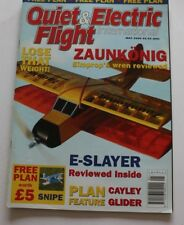 Quiet & Electric Flight International Magazine Issue 39 May 2005 with plan