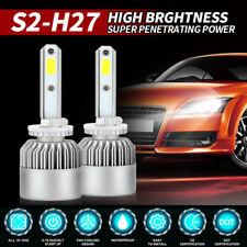 1855W 278250LM 880 881 H27 6000K CREE LED Fog Driving Light Conversion Bulbs Kit