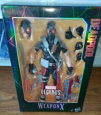 Figurine Marvel Legends Deadpool Weapon X - NEUF (Boîte abîmée)