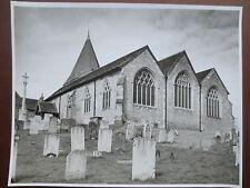 VINTAGE Photograph WESTERHAM St Mary's Church Kent 1960s Large Photo