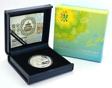10 Yuan 2014 Silber Panda International Horticultural Exposition 2014 Qingdao