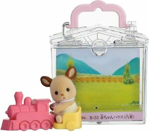 Sylvanian Families Calico Critters Baby House Train Deer B-35
