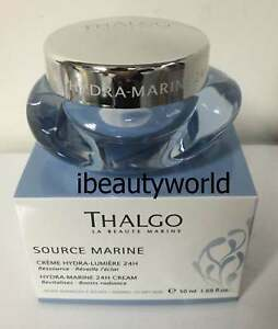 NEW Thalgo Hydra-Marine 24H Cream 50ml Free Shipping #liv