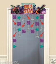 Rock Star Door Decoration 1ct Rocker Party Decoration Supplies