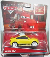 VOITURE DISNEY PIXAR CARS NURSE GTO
