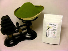 Organic Moringa Oleifera Raw Leaf Powder 25gms - CERTIFIED NON GMO - UK Seller