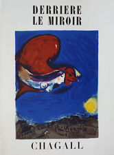 Marc CHAGALL (1887-1985) Lithographie Mourlot Derrière le miroir.