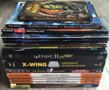 17 Strategy Guides-Diablo/Star Trek/Warcraft/Quake/Star Wars/Age of Empires Lot
