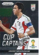 Panini Prizm World Cup 2014 Cup Captains 15 Javad Nekounam
