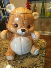 Vintage Treasure Craft Teddy Bear Cookie Jar