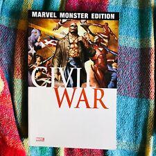 MARVEL MONSTER EDITION 20 CIVIL WAR 2 Avengers Panini
