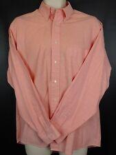 Smart Casual Daniel Hechter Long sleeved Shirt Pink 15.5in Button down Collar