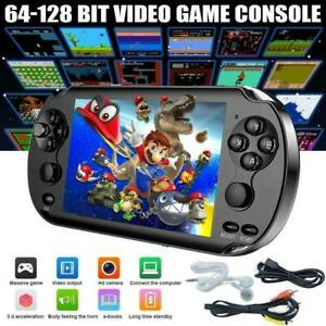 """5"""" 1000+Game Portable Handheld Video Game Console 128Bit Kids Player Gift"""