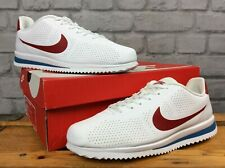 NIKE MENS UK 7 EU 41 CORTEZ ULTRA MOIRE WHITE RED BLUE TRAINERS LD