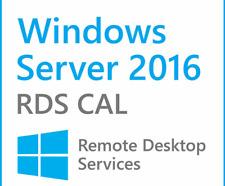 Server 2016 Remote Desktop Services 50 RDS User CALs