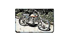 Bsa B44 Motorbike A4 photo Retro Bike