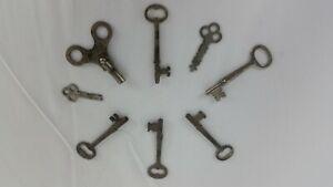 Great Lot of  Vintage Miscellaneous & Skeleton Keys!!!