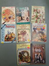 Acrylic Painters Reference Book Susan Adams Bentley plus 7 more painting books