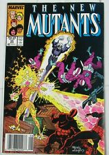 The New Mutants #54 Aug. 1987, Marvel Comics