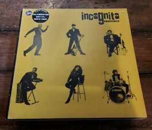RARE! INCOGNITO - POSITIVITY LP 518 260-1 TALKIN LOUD 1993 VG+!