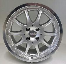 DBV Australia Alufelgen 7J x 15 ET38 4 100 Silber Honda Civic 32050042