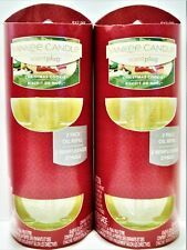 YANKEE CANDLE ScentPlug CHRISTMAS COOKIE Refill Bulbs, NEW x 4