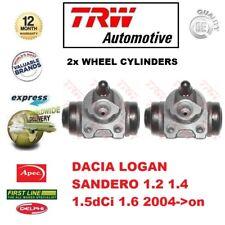Per Dacia Logan Sandero 1.2 1.4 1.5dci 1.6 2004- > su 2x Posteriore Asse Ruota