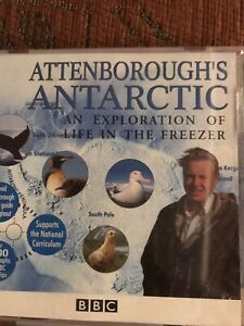 Attenboroughs Antarctic Cd-rom Bbc 1996