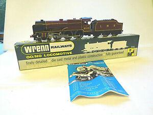 WRENN OO GAUGE L.M.S. MAROON LANCASHIRE WITCH LOCOMOTIVE W2274 [MINT & BOXED]