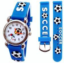 Football Soccer Wrist Watch Read Learn Time Boys Girls Kids Stocking Filler Gift