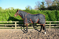 "300gm HEAVY WEIGHT COMBO stable rug/quilt, pony and horse size 4'3"" - 7'3"""