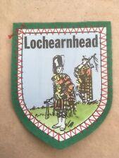Souvenir cloth Patch, Badge of LOCHEARNHEAD. Scotland