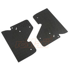 3Racing Sakura FGX Graphite Rear Side Wing 2pcs RC Cars F1 On Road #FGX-321/WO
