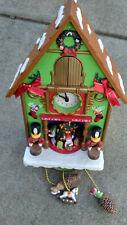 "christmas wall clock kids Decor Curko style 12"" x 8"" x 5"""