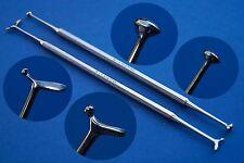 Instrumento Doble Amalgama Füller según White Dental Instrumento 2er Set