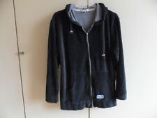 Damensweatshirt, Kapuzenjacke, Kapuzensweatshirt, Größe 38/40, schwarz