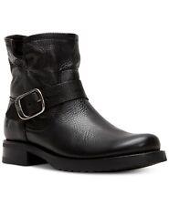 Frye Women's Veronica Leather Moto Bootie Size 7.5M Black, MSRP $278
