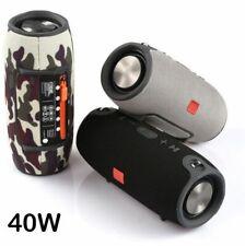 High Power 40W Bluetooth Speaker Waterproof Portable Column Super Bass Stereo Fo