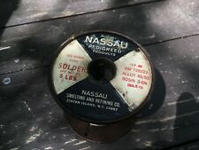Western Electric NASSAU pedigreed solder.070  RARE  Best of the Best
