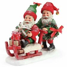 "Department 56 Possible Dreams Santas Accessories Elves Delivery Figurine, 7"", Mu"