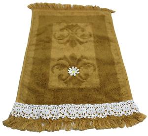 Towel Decorative Hand Vintage Retro Mid Century 16x11 Fieldcrest