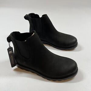 Sorel Women's Chelsea Waterproof Bootie Black Sea Salt NWT Size 5.5