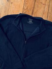 Men's L.L. Bean Full-Zip Fleece Long Sleeve Jacket XL GREAT!