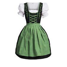 Dirndl Set  3 tlg.Trachtenkleid Kleid, Bluse, Schürze, Gr. 34-52 Neu OVP SchGrün