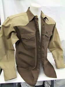 Western Wrangler Shirt Large