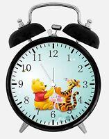 "Winnie The Pooh Alarm Desk Clock 3.75"" Room Office Decor Y06 Nice For Gift"