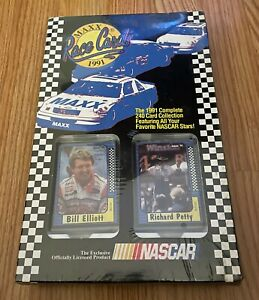 Race Cards Maxx 1992  -  240 Cars featuring your favorite NASCAR Stars